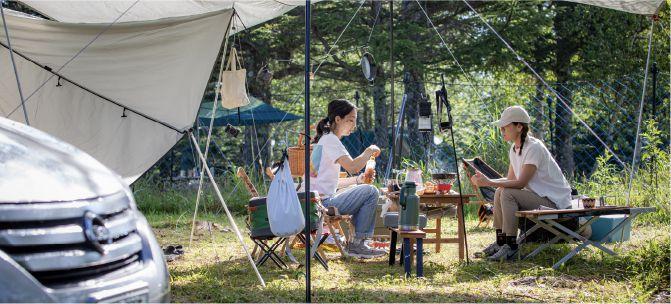 鹿嶺高原キャンプ場での過ごし方